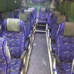 18 seater 2/1 mini bus interior
