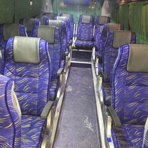 luxury 18 seater 2/1 mini bus interior