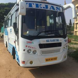 Tejas tours and travels launch a new 18 seater 2/1 luxury mini bus
