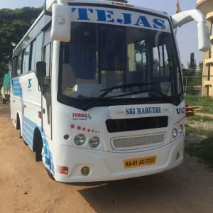 Tejas travels launch Luxury 18 Seater Mini Bus
