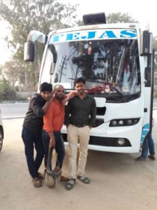 tejas travels customers trip from bangalore to ooty