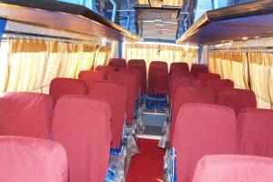 25 seater minibus Interior